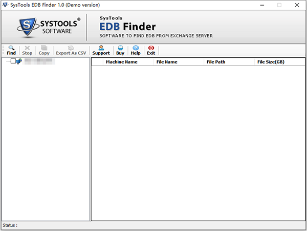 SysTools EDB Finder�D片