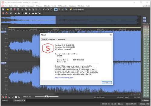 SOUND FORGE Audio Studio截�D