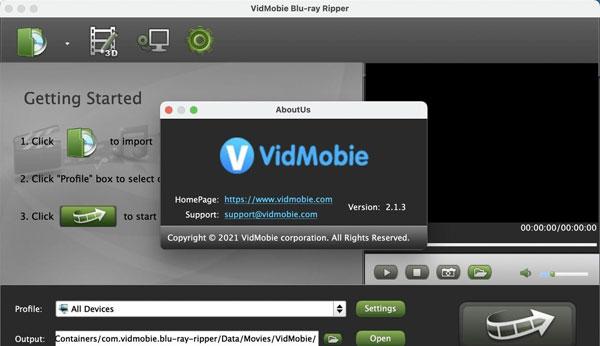 VidMobie Blu-ray Ripper截�D