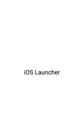 IOS Launcher 15截图0