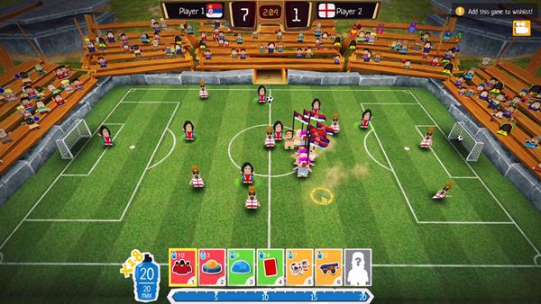 疯狂足球:足球明星截图0