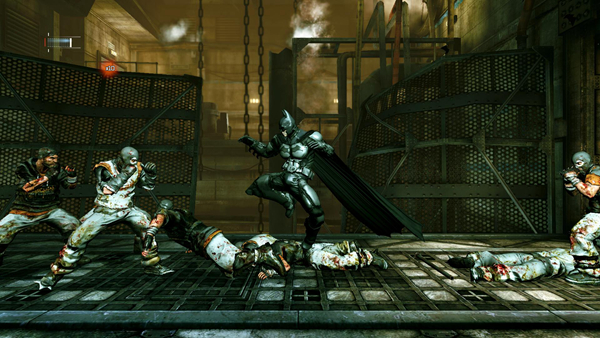 蝙蝠侠阿卡姆起源黑门游戏图片5