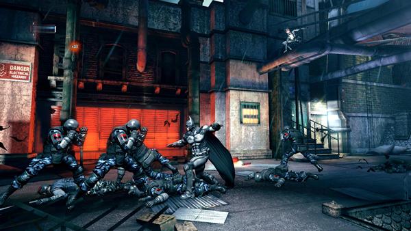 蝙蝠侠阿卡姆起源黑门游戏图片6