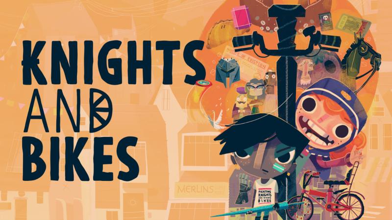 双人联机冒险游戏《骑士与单车》现已在各大平台发售