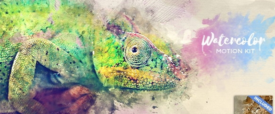 Watercolor Motion Kit图片