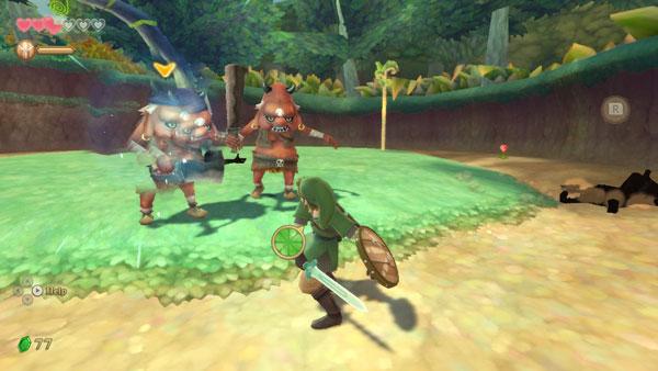 塞尔达传说御天之剑HD图片