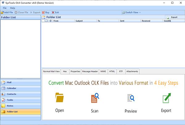 SysTools OLK Converter图片
