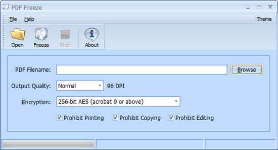 PDF Freeze图片
