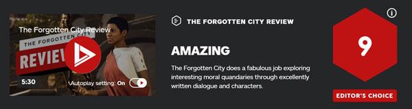 《遗忘之城》IGN评分