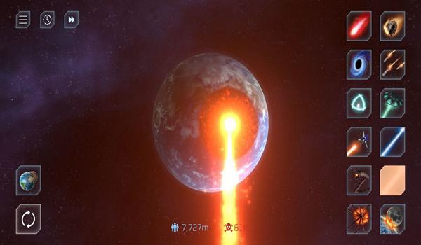 星球毁灭模拟器内购破解版截图0
