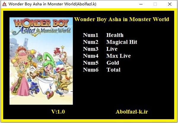 神奇小子爱莎在怪物世界六项修改器截图0