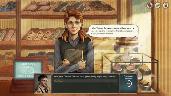 黑咖啡:商业侦探游戏截图3