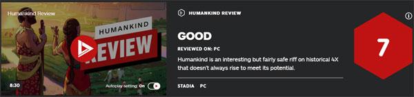 《人类》IGN评价