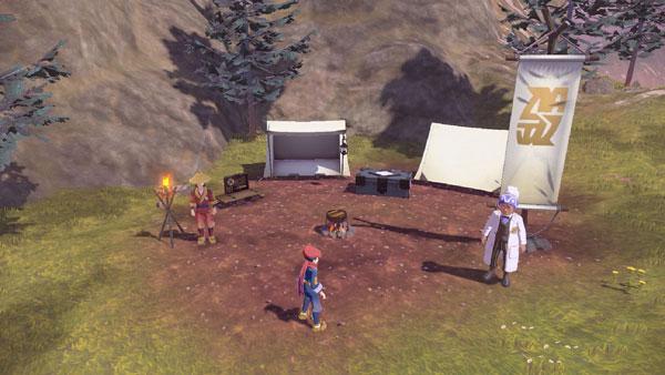 《宝可梦传说:阿尔宙斯》游戏截图
