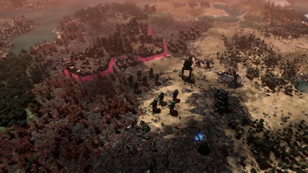 战锤40K格雷迪厄斯遗迹之战游戏图片2