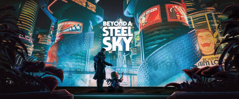 赛博朋克题材解密冒险游戏《Beyond a Steel Sky》将于11月30日登陆主机平台