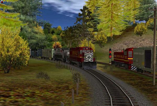 模拟火车2004游戏截图