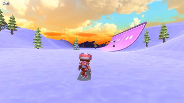 机器人滑雪截图0