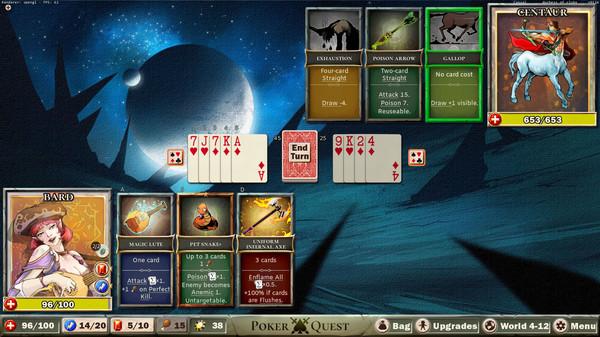 Poker Quest截图1