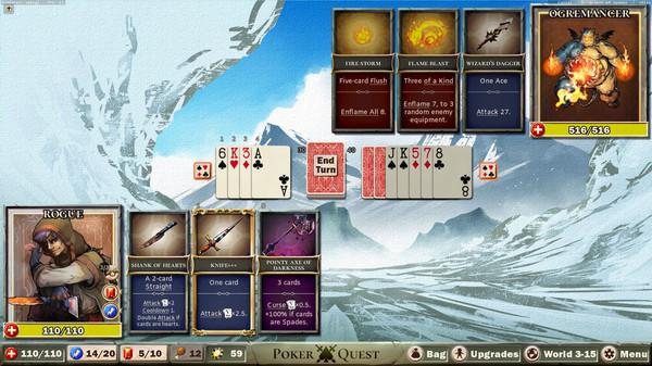 Poker Quest截图2
