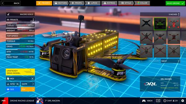 无人机竞速联盟模拟器截图5
