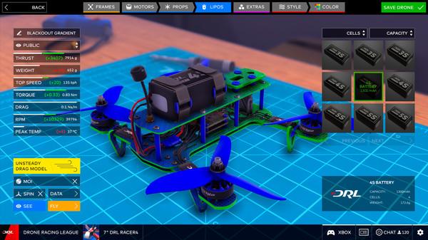 无人机竞速联盟模拟器截图6