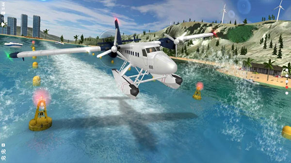 飞行员模拟器无限金币钻石版截图0
