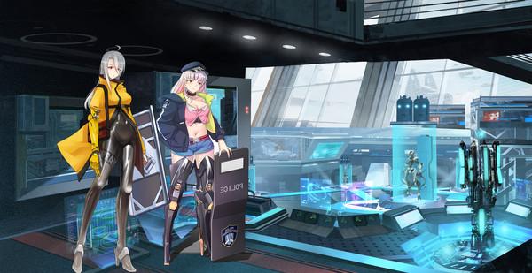 美少女vs机甲截图3