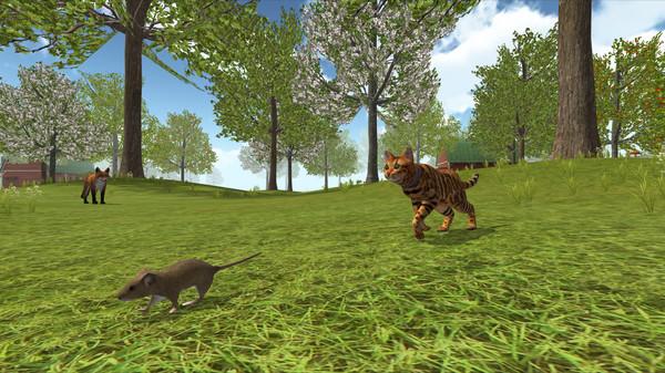 猫咪模拟器:农场动物截图0
