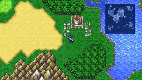 最终幻想4像素重置版截图0