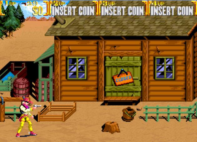 落日骑士(Wild West COW Boys of Moo Mesa)街机版