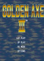 战斧3MD游戏硬盘版