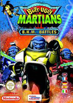神勇火星人反冲大作战(Butt Ugly Martians B.K.M Battles)GBA版