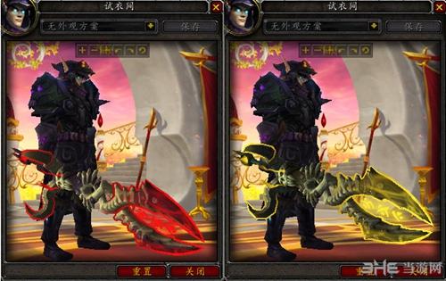 魔兽世界6.0冰霜dk_WOW魔兽世界7.0死亡骑士DK神器外观介绍 各形态模型一览-邪恶死亡 ...
