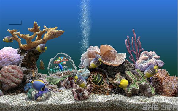 3D海底世界动态屏保