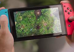 堡垒之夜Switch版登陆宣传片 随时随地吃鸡跳舞