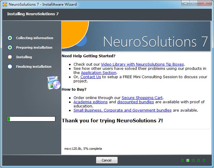 Neuro Solutions安装步骤图片3