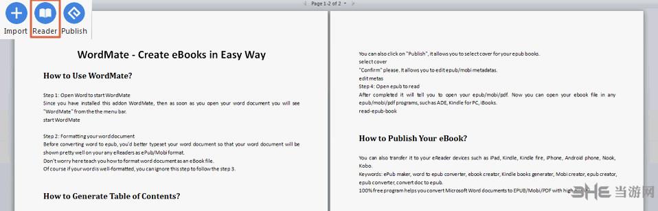 Epubor Wordmate软件图片2