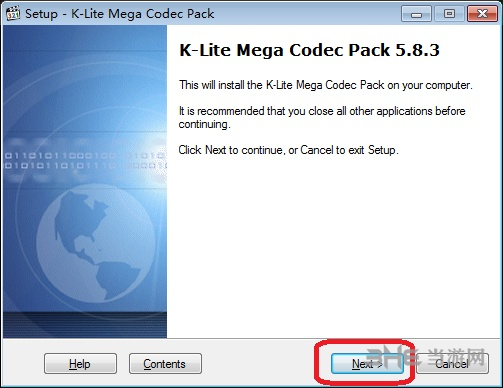 K-Lite Mega Codec Pack安装教程图片2