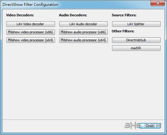 K-Lite Mega Codec Pack解码器插件中文强化版