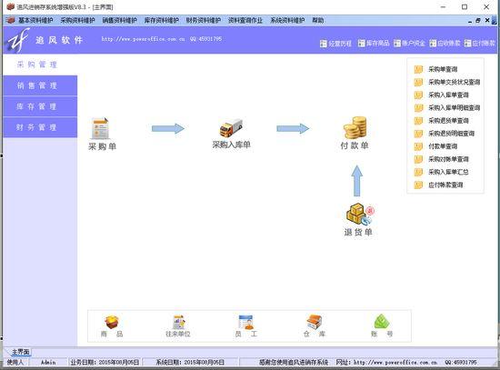 追风进销存管理系统图片1