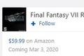《最终幻想7:重制版》Demo与正式版同天推出是假消息