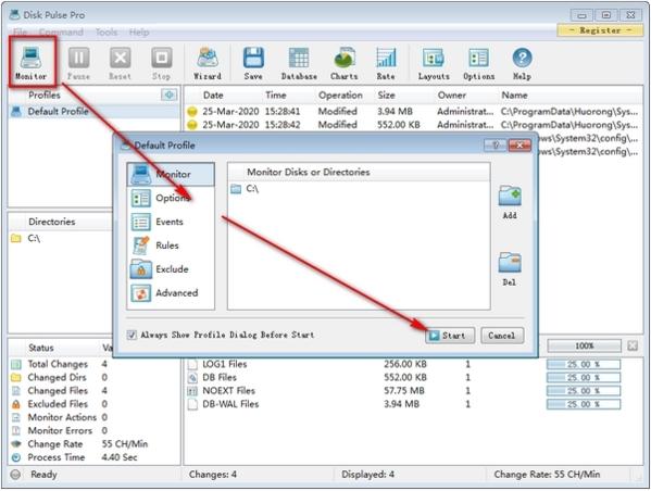 Disk Pulse Pro软件图片3