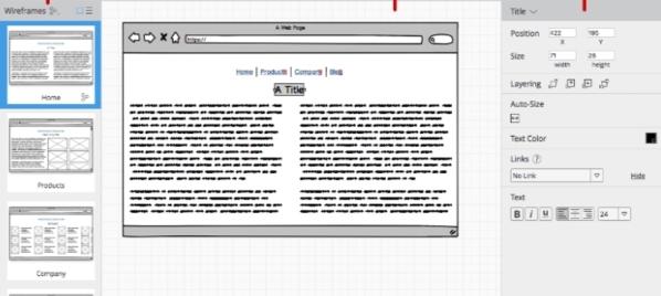 Balsamiq Wireframes软件图片2