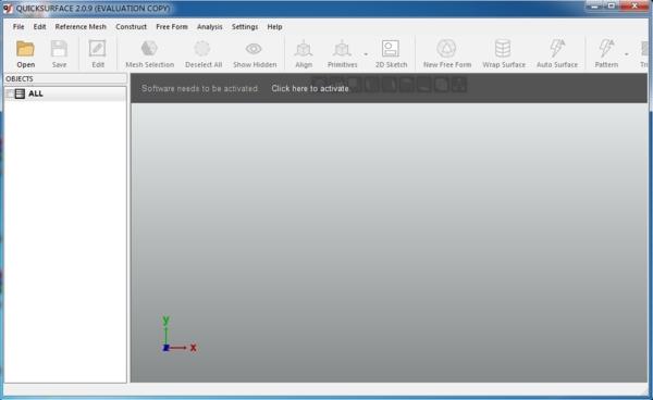Quick Surface软件图片1