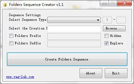 Folders Sequence Creator图片